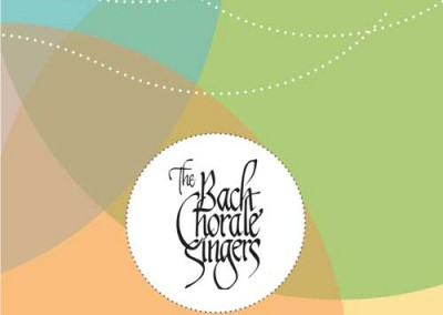 The Bach Chorale Singers season brochure